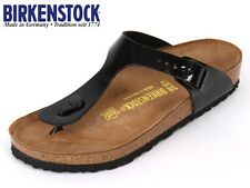 BIRKENSTOCK ARIZONA Black ALL SIZES New 1 Gizeh / Black / Soft Footbed / 35 - 46