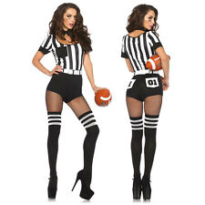 Sexy Leg Avenue Women's Costume Referee Football Referee Schiri S–l