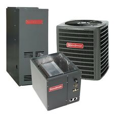 3 Ton 13 SEER 80% AFUE 100,000 BTU Gas Furnace, Air Conditioner System, Downflow