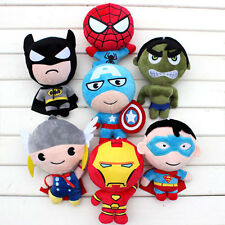 Marvel Avengers Super Heroes Movie Character Plush Toys Stuffed Doll Gift