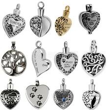 Heart Cremation Jewelry Keepsake Pendant Memorial Urn Fashion Accessories
