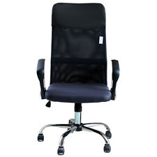 IDS Ergonomic Adjustable Mesh High-Back PU Headrest Office Task Chair with  Arms