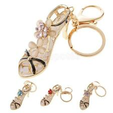 High-heeled Shoes Car Bag Purse Keychain Keyring Charm Pendant Key Ring Chain