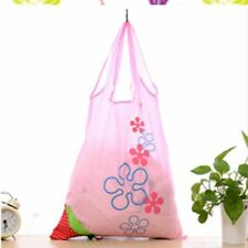 Foldable Cute Fashion Reusable Bag Eco Handbag Shopping Tote Bags Strawberry