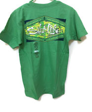 Salt Life Men's Short Sleeve Camo Fix and Patch pocket Tee T-Shirts Size New NWT