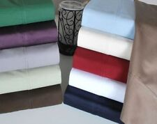 1000TC 100% EGYPTIAN COTTON BEDDING SHEETS/DUVET/FITTED SCALA BED!COLORS & SIZE""