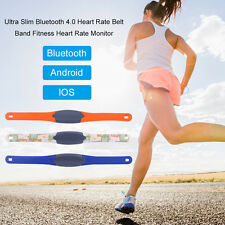 New Ultra Slim Bluetooth 4.0 Heart Rate Belt Band Fitness Heart Rate Monitor SM