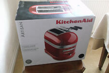 KITCHEN AID ARTISAN BLACK TOASTER USED ONCE