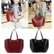 New WOMENS HANDBAG TOTE BAG Leather SHOULDER Bag Messenger Satchel Purse Ladies