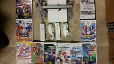 Wii console Mario Kart, Sonic, Super Smash Bros,  Wii Sports, Resort, bundles