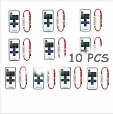 2/5/10PCS 12V RF Wireless Remote Switch Controller Dimmer for LED Strip Light YK