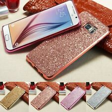 Bling Glitter Luxury Phone Cover Soft TPU Case For Samsung Galaxy/LG/Huawei E
