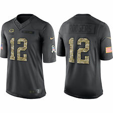 Aaron Rodgers Green Bay Packers Nike NFL Men's 2016 Salute to Service Jersey