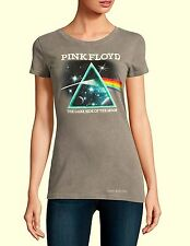 Pink Floyd T-Shirt Dark Side of the Moon rock Mineral Wash Girls Tee M L XL NWT