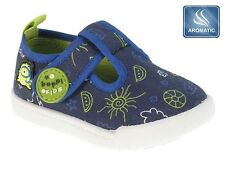 Infant Toddler Baby Boys Trainers Pumps Canvas Shoes Plimsolls Size 3 - 7