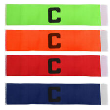 Elastic Soccer Football Captain Armband Arm Band Strap Hockey Rugby Sports Band
