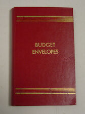 Vintage Budget Envelopes Booklet A Springfield Product Red Gold Original New NOS
