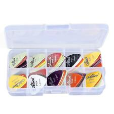 0.58/0.71/0.81/0.96/1.20/1.50mm Alice Picks Plectrum for Guitar Bass Replacement