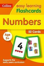 Numbers Flashcards by Collins Easy Learning Paperback Book Free Shipping!