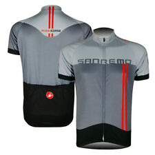 Mens Bike Cycling Tops Gear Short Sleeve Bicycle Jersey Shirt Sweater Cool Tops