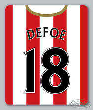 SUNDERLAND themed MOUSEMAT - mouse mat pad PERSONALISED 16-17 football kit style