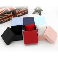 Hot! Present Gift Boxes Case For Bangle Jewelry Ring Earrings Wrist Watch Box RX