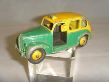 DINKY 254 'AUSTIN FX3 TAXI CAB' YELLOW GREEN. COMPLETE/ORIGINAL.