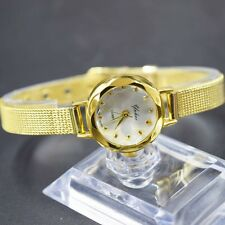 Watch Women Lady Fashion Thin Stainless Steel Quartz Analog Bracelet Wristwatch