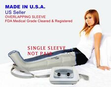 Sequential Air Compression Leg Massager (MADE IN USA, FDA 510K CLEARED)