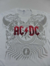 Ladies AC/DC  T-Shirt Black Ice Tour 2010 Size M-XL   free post