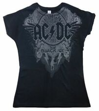 Ladies AC/DC  T-Shirt Black Ice Tour 2010 Size S-M-XL   free post