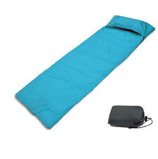 Single Outdoor Camping Envelope Sleeping Bag Liner Hiking Travel Pillow Cover