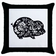 Year of The Pig Chinese Zodiac Throw Pillow Case