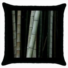 Chinese Bamboo Throw Pillow Case