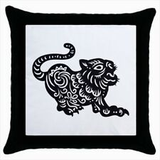 Year of The Tiger Chinese Zodiac Throw Pillow Case