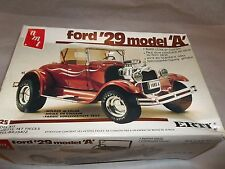 Original Amt Ertl 29 Ford Model A 1:25 Scale Plastic Car Model Kit #6572