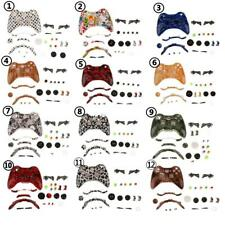 Housing Shell Case Mod Kit and Trigger Button for Xbox 360 Wireless Controller