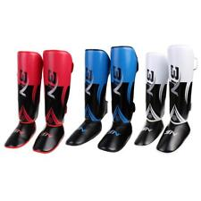Shin Guards Leg Guards MMA KIck Boxing Thai Shin Instep Pads MMA Foot Guard