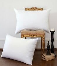 LUXURY DUCK FEATHER & DOWN PILLOWS, HOTEL QUALITY, PACK OF 2, 4, 6 AND 8 PILLOWS