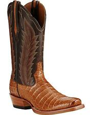 Ariat Men's Turnback Caiman Belly Cowboy Boot Square Toe - 10018715