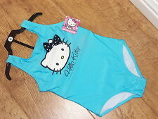 BNWT Hello Kitty  Girls'  One Piece Swimsuit  4 SIZES AGE 4/5/6/7