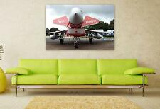 Stunning Poster Wall Art Decor Airshow Aircraft Military Plane 36x24 Inches