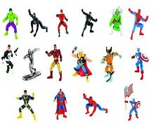 Super Heroes Marvel Comics Spiderman- Silver Surfer- Thor- Hulk- Ironman Yolanda