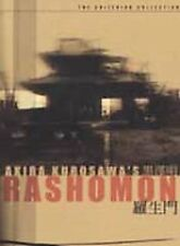 Rashomon DVD, 2002, Criterion Collection #138 Akira Kurosawa RARE