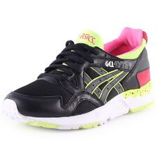 Asics Onitsuka Tiger Gel-lyte V Womens Trainers Black Multicolour New Shoes
