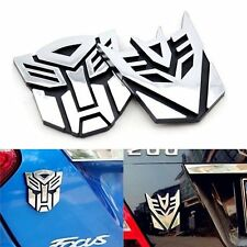 New 3D Auto Car Logo Protector Decal Autobot Transformers Emblem Badge Sticker