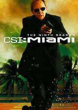 CSI: Miami - The Ninth Season (DVD, 2011, 6-Disc Set) NEW