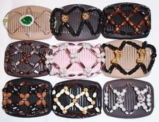 Double Magic Hair Combs, African Style Butterfly Clips, Best Quality Combs S11