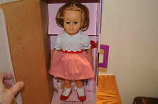 Mattel CHATTY CATHY DOLL Talks 1999 Reproduction Red Stripe Dress GORGEOUS WORKS