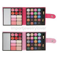 Pro 32 Colors Makeup Palette Kit Cosmetic Shimmer Eyeshadow Blusher Lip Gloss